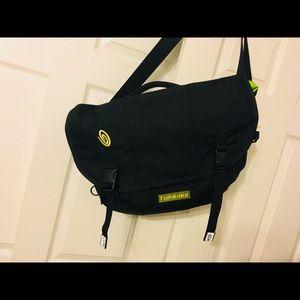 Timbuktu Diaper bag. Black and green. Never used